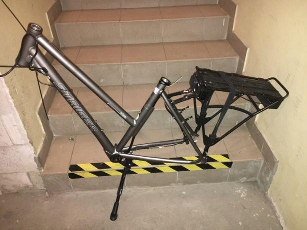rama pod rower elektryczny / aluminiowy / koło 28 cali