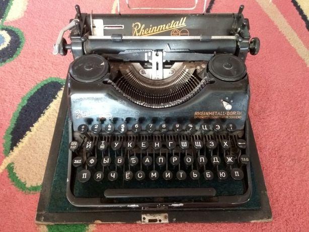 Доведена друкарська машинка Rheinmetall