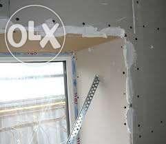 Восстановление откосов потолков стен полов проводки за 1 день.