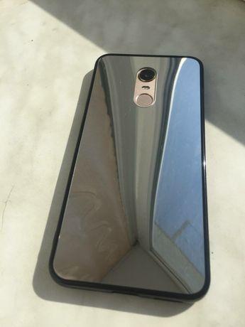 Продам новый зеркальный чехол на Xiaomi redmi 5plus
