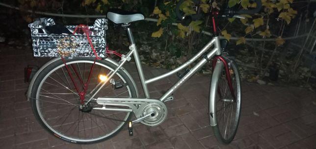 """Велосипед велик планетарка 7 скоростей Германия алюминий 28"""" колеса"""