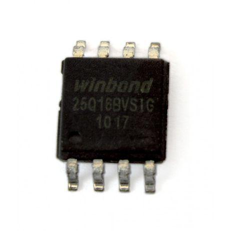 Memória Flash Eprom SPI W25Q16BVSIG 16M-Bit Winbond w25q16