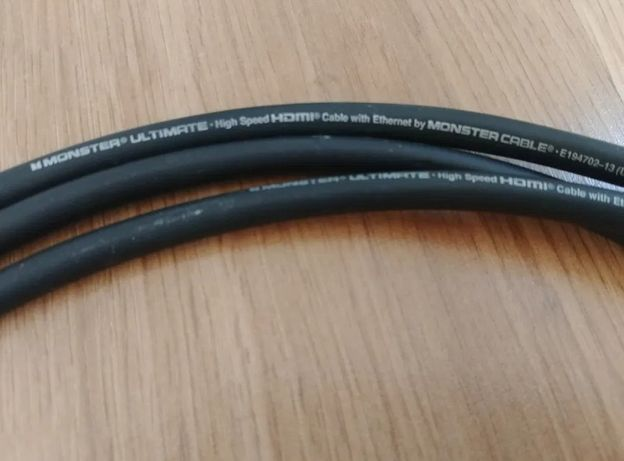 Kabel HDMI monster ultimate black platinum 3 m do TV