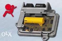 regeneracja naprawa pasów bezpieczeństwa airbag konsole deski kokpit