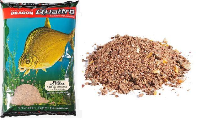 Zanęta Dragon Quattro 5kg karp ryba - śliwka