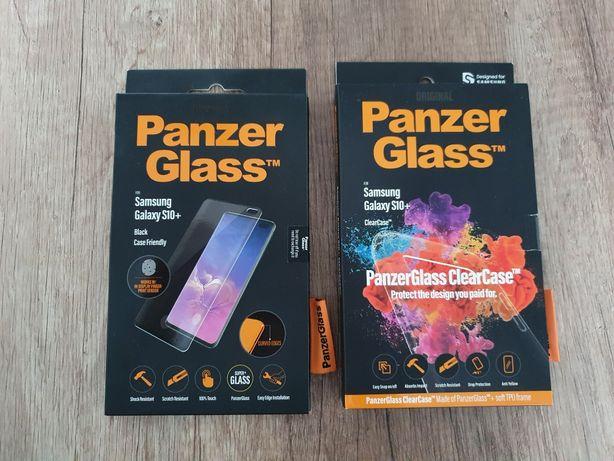 Szkło  ochronne  + Clear Case Samsung  S10 +