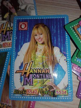 Kolekcjonerskie Karty Hannah Montana Miley Cyrus
