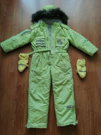 Зимний детский комбинезон Chicco 128
