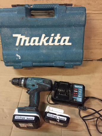 Wkrętarka Makita 14.4V dwa aku ,ładowarka, walizka