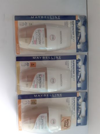 Maybelline Superstay Sillky - vários  tons