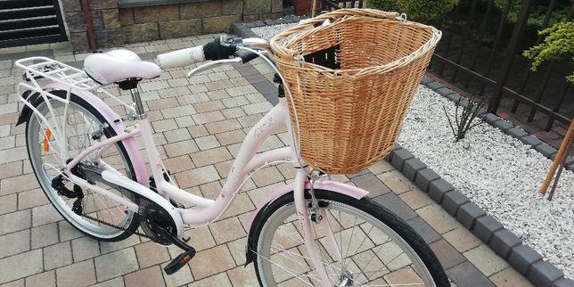 Rower miejski- damka dziewczęca