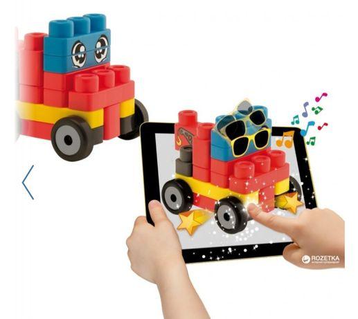 Конструктор пожарная машина и эвакуатор Chicco App Toys Block Lego