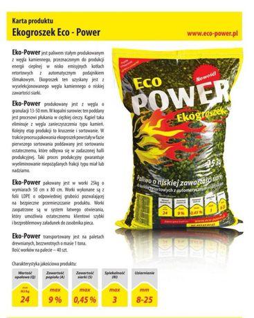 Ekogroszek EcoPower 24mj/kg!!! ATRAKCYJNE RABATY !!!