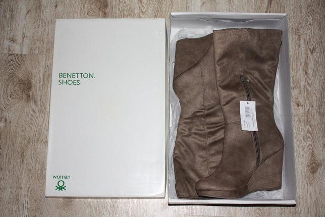 Продам женские сапоги United Colors of Benetton