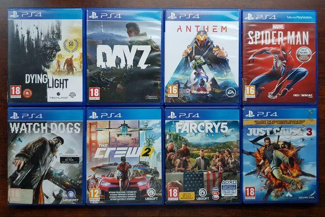 gry PS4 sprzedaje tylko komplet