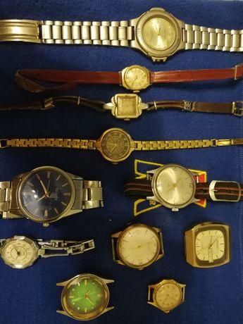 Zegarki 11 sztuk  Stare sprzedam