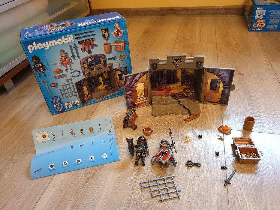 6156 playmobil Gamebox Skarbiec rycerze lochy Pajęczno - image 1