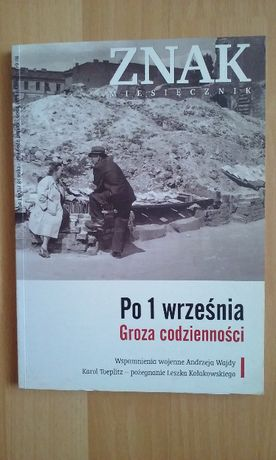 """Miesięcznik """"Znak"""" wrzesień 2009"""