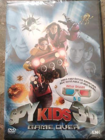 DVD 'Spy Kids 3D' (novo!)