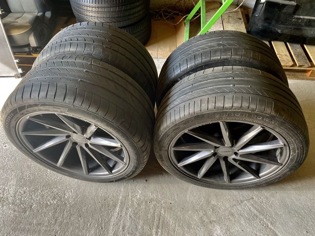 Разноширокая резина BMW X5, X6 R20 315/35, 275/40 летняя бмв Х5 Х6