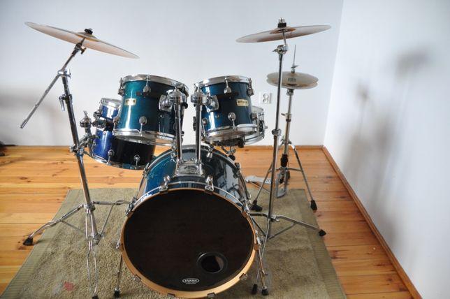 "Perkusja Basix Custom-Klon; 10,12,14,22 + werbel 14""-statywy-talerze"