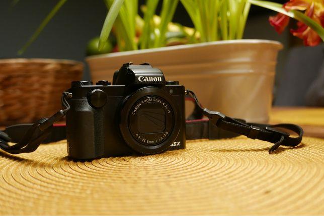 Canon G5X jak nowy, bezlusterkowiec
