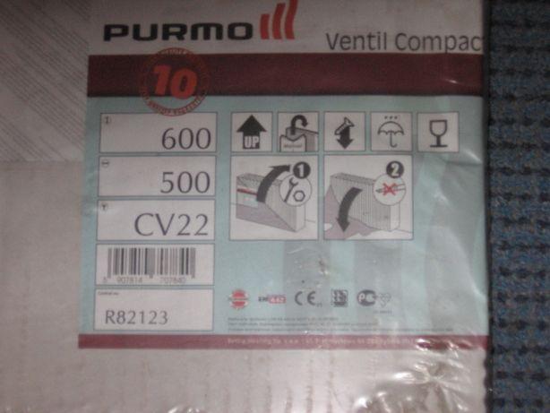 Nowy grzejnik Purmo 600 X500 CV22 szt 2 cena 230 zł za sztukę .