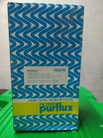 Фильтр топливный PURFLUX FCS770 на Рено Меган 3, Рено Флюенс 1.5dci K9