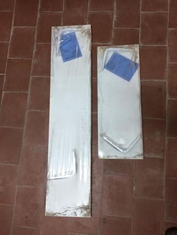 2 kits de prateleiras novas 60x22cm e 100x22cm - Armação de Pera