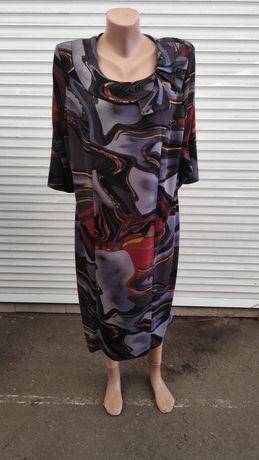 Платье женское,теплое,зимнее,вечернее(р.58)