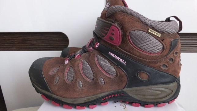 трекинговые мембранные термо ботинки Merrell Сша Оригинал р. 36 cт. 23