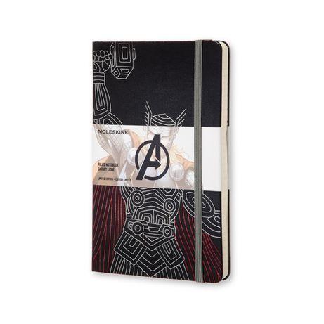Marvel AVENGERS Thor by Moleskine Ruled large