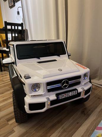 Mercedes G63 AMG 6x6 dla dziecka na akumulator