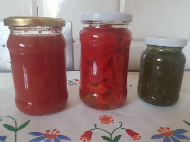 Sok z pomidora, papryka oraz szczaw