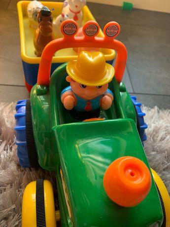 Traktorek dumel ze zwierzątkami