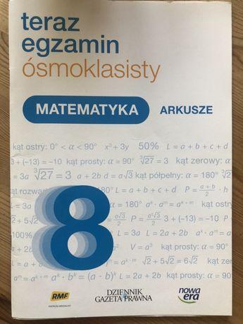 Matematyka arkusze ósmoklasisty