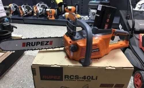 Аккумуляторная Цепная пила Rupez 40 LI ( 40 Вт, 4.0 а)