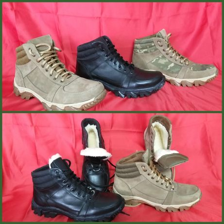 Ботинки тактические берцы зимние-лето кожаные с 36-45 цена розничная.