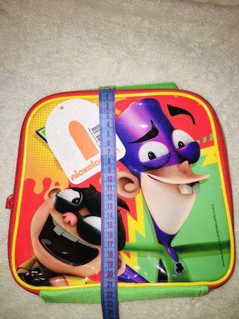 Термосумка для завтраков - ланч бокс Fanboy Nickelodeon рюкзак детский