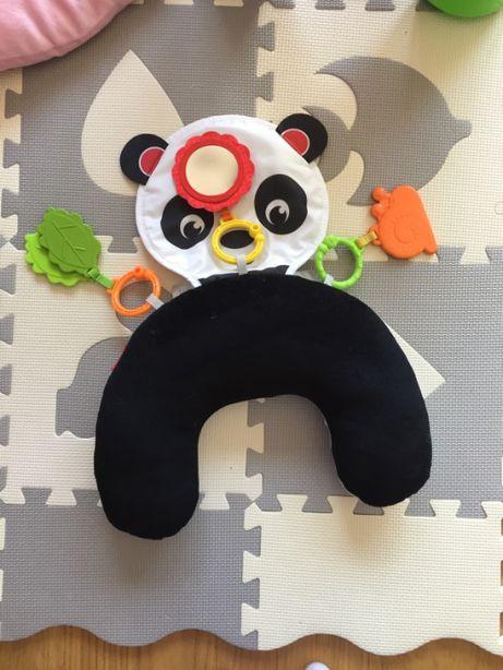 Fisher-Price, Sensoryczna poduszka Panda, zabawka niemowlęca