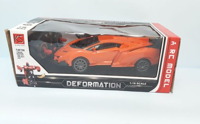 "машинка / ""Lamborghini"" - Мобиль / (TRANSFORM Авто р/у), трансформер"