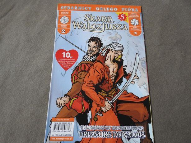 Skarb Walezjusza komiks Strażnicy Orlego Pióra 2