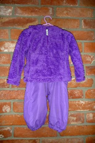 Zimowe spodnie + bluza marki Trespass 6-12 miesięcy