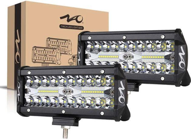 """7"""" Очень мощная светодиодная LED фара балка рабочий дальний свет 12-24"""