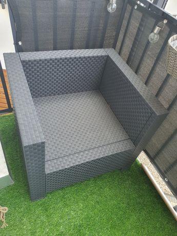 Fotele ogrodowe/balkonowe używane