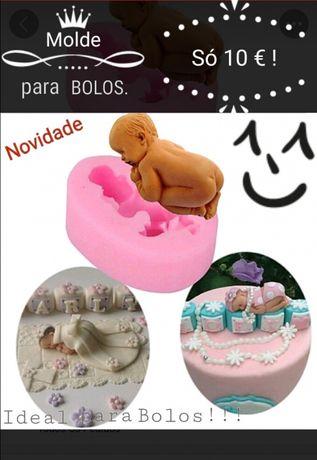 """Forma """"bebé"""" para Bolos ou Gesso"""