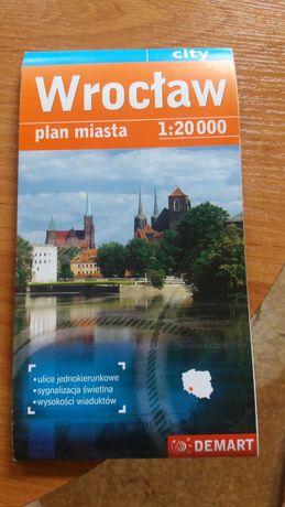 Plan miasta WROCŁAW 1:20 000