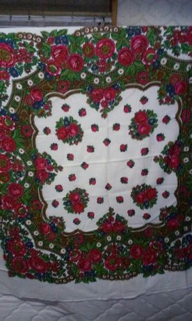 Новые украинские шерстяные большие платки
