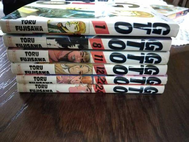 Gto Great Teacher Onizuka 1,8,11,12,22,24 manga