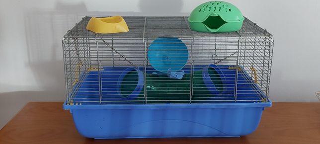 Gaiola Hamster + Bola